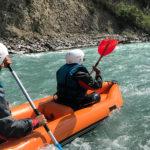Canoé Kayak Durance Embrun hautes-alpes La Guilde Eau Vive 17km copie