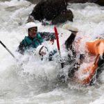 Canoé Kayak gonflable Rabioux Durance Embrun hautes-alpes La Guilde Eau Vive 17km copie