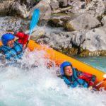 Durance Kayak gonflable 17km la guilde de l eau vive activites