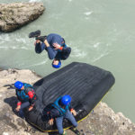 Mini Raft PACA Hautes Alpes descente de la Durance La Guilde Rafting